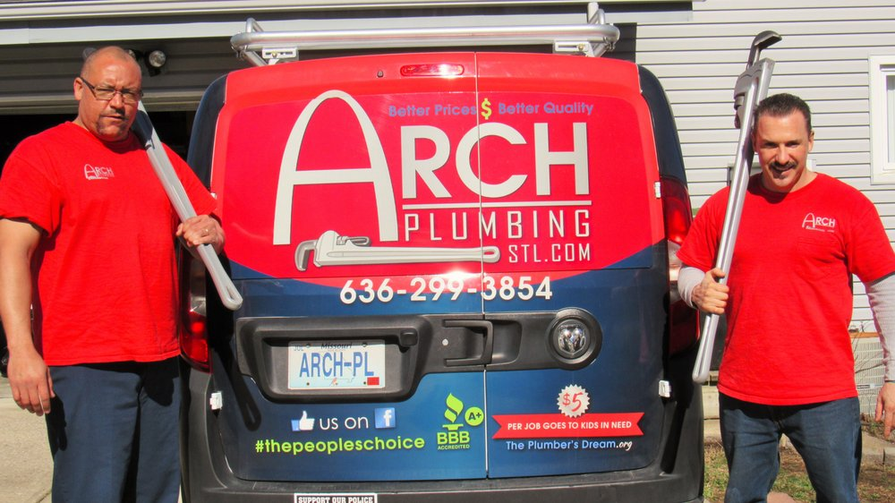 Arch Plumbing: 12 Ardennes Pl, Lake Saint Louis, MO