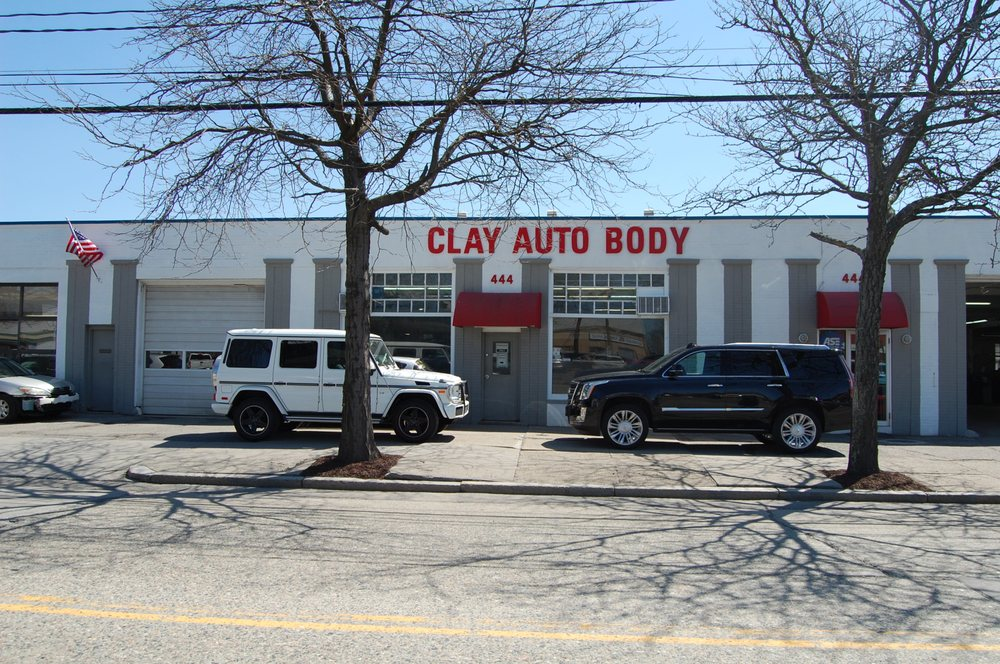 Clay Nissan Newton >> Clay Auto Body 20 Reviews Body Shops 444 Watertown St