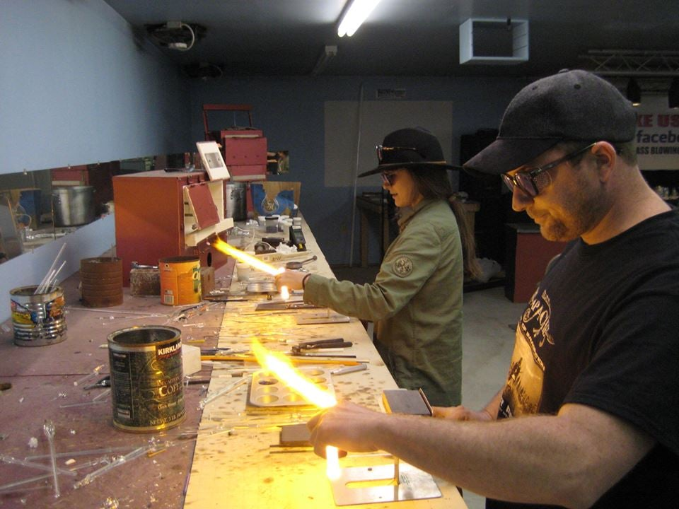 The Glass Blowing Center: 114 Leonard Rd, Hilliards, PA