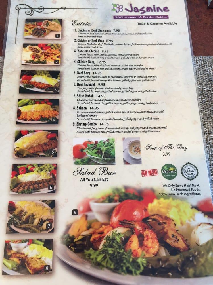 April 2016 menu yelp for Mediterranean restaurant menu