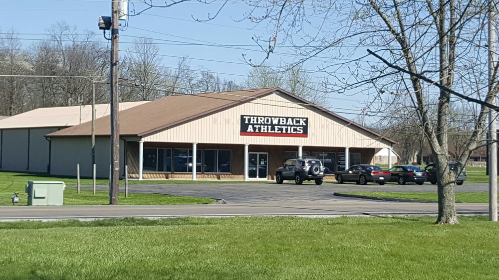 Throwback Athletics: 920 S Rangeline Rd, Anderson, IN