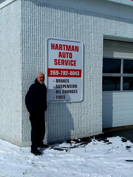 Hartman Auto Service: 102 N Front St, Dowagiac, MI