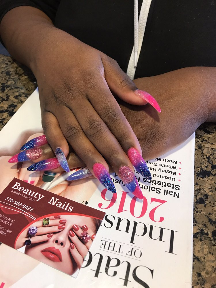 Beauty Nails: 40 Villa Rosa Rd, Temple, GA