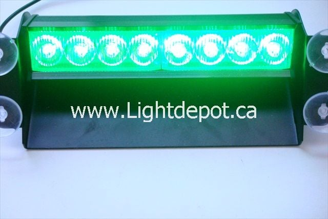 Photo Of Lightdepot Canada   Toronto, ON, Canada. Volunteer Firefighter  Lights, Green