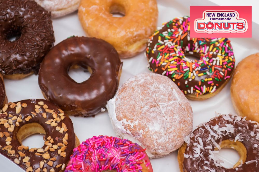 New England Homemade Donuts: 2340 W Main Rd, Portsmouth, RI