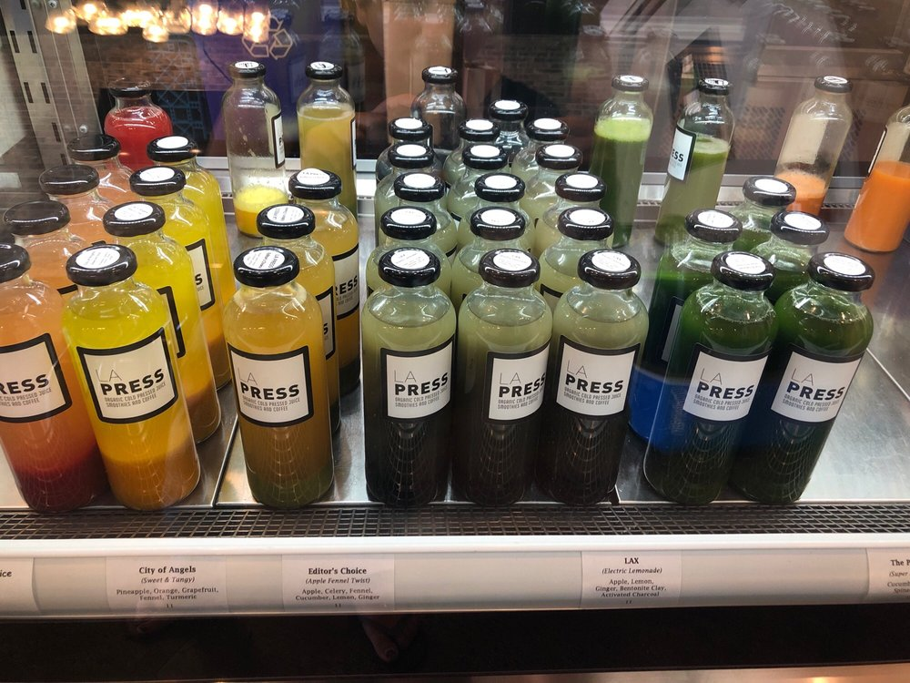 LA Press Organic Cold Pressed Juice & Coffee