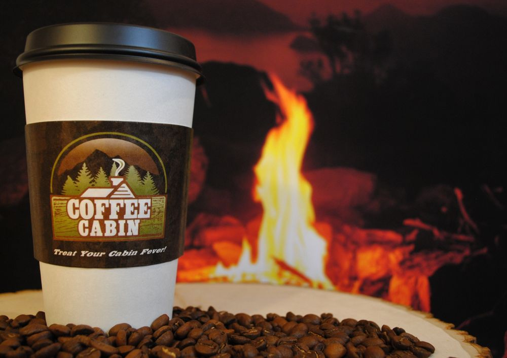 Coffee Cabin: 350 W Lincoln Hwy, Schererville, IN