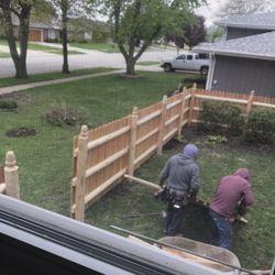 Cedar Rustic Fence 35 Reviews Fences Amp Gates 99