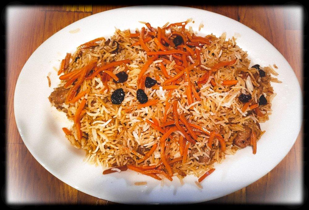 Food from Afghan Choopan Cafe
