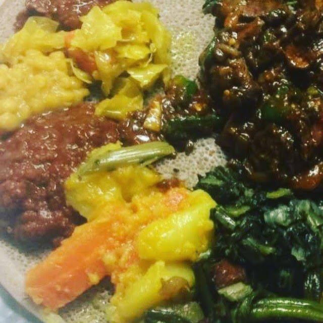 Nazret Ethiopia Resturante: 3821D S George Mason Dr, Falls Church, VA