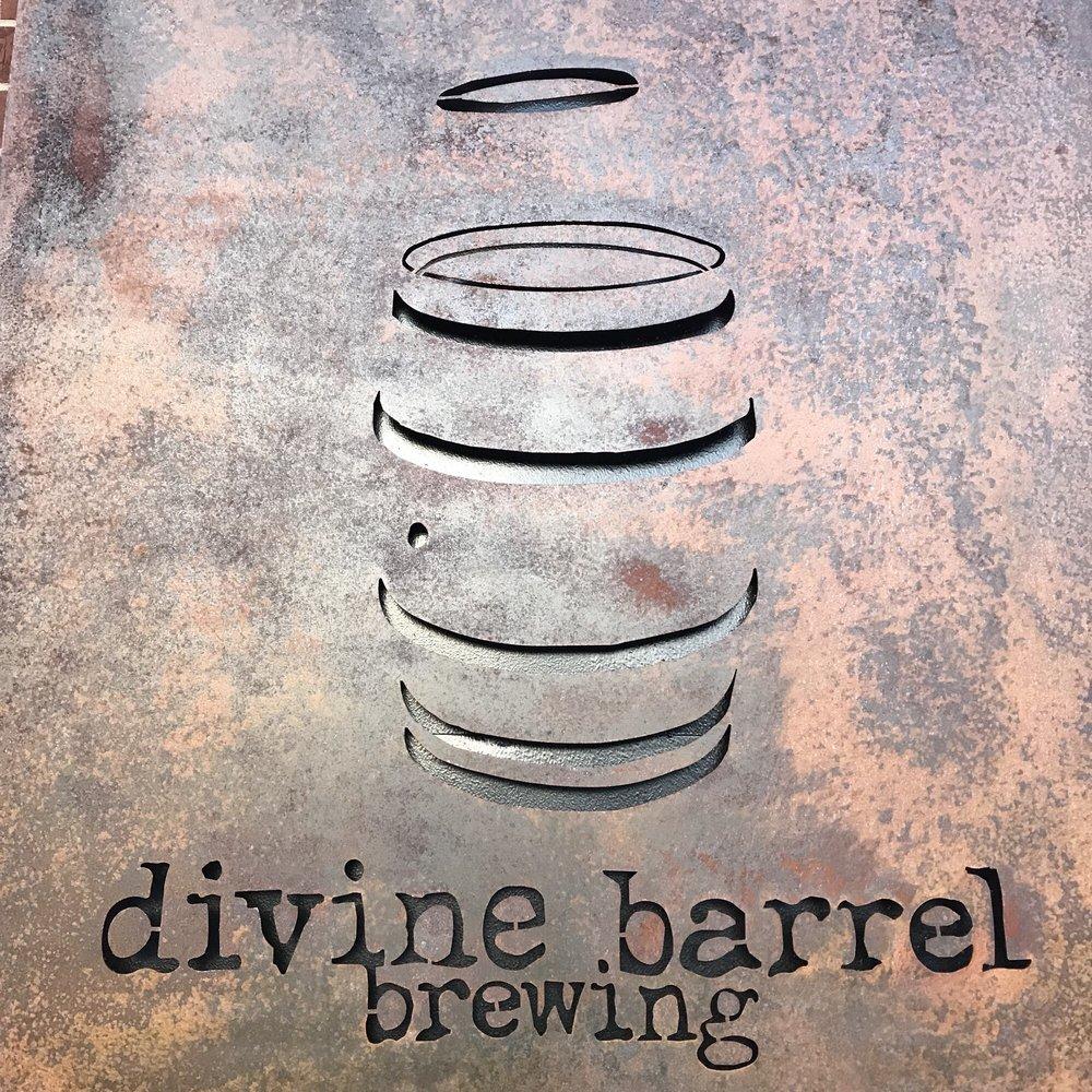 Divine Barrel Brewery Logo