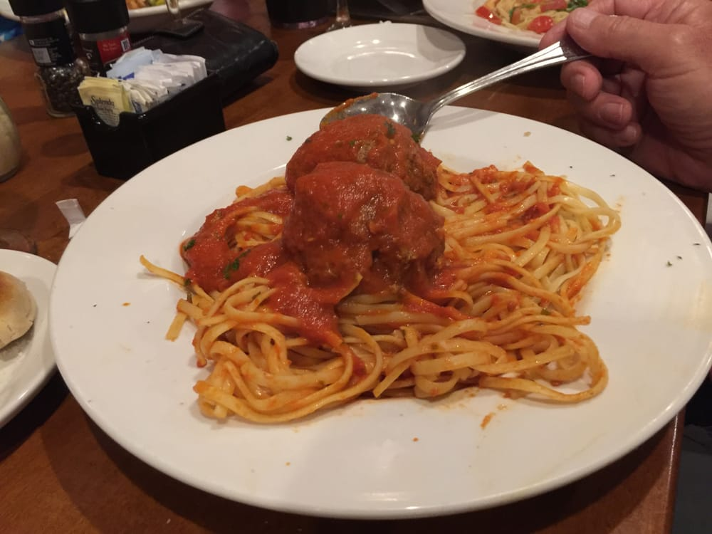 Spaghetti With Meat Balls Yelp