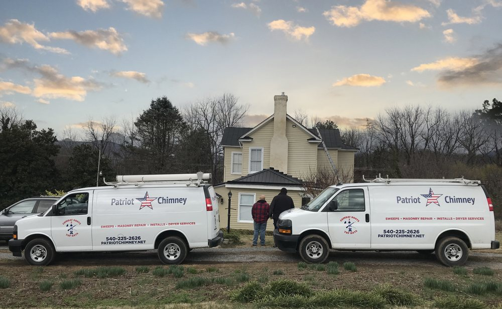 Patriot Chimney: 701 Oak Dr, Blue Ridge, VA
