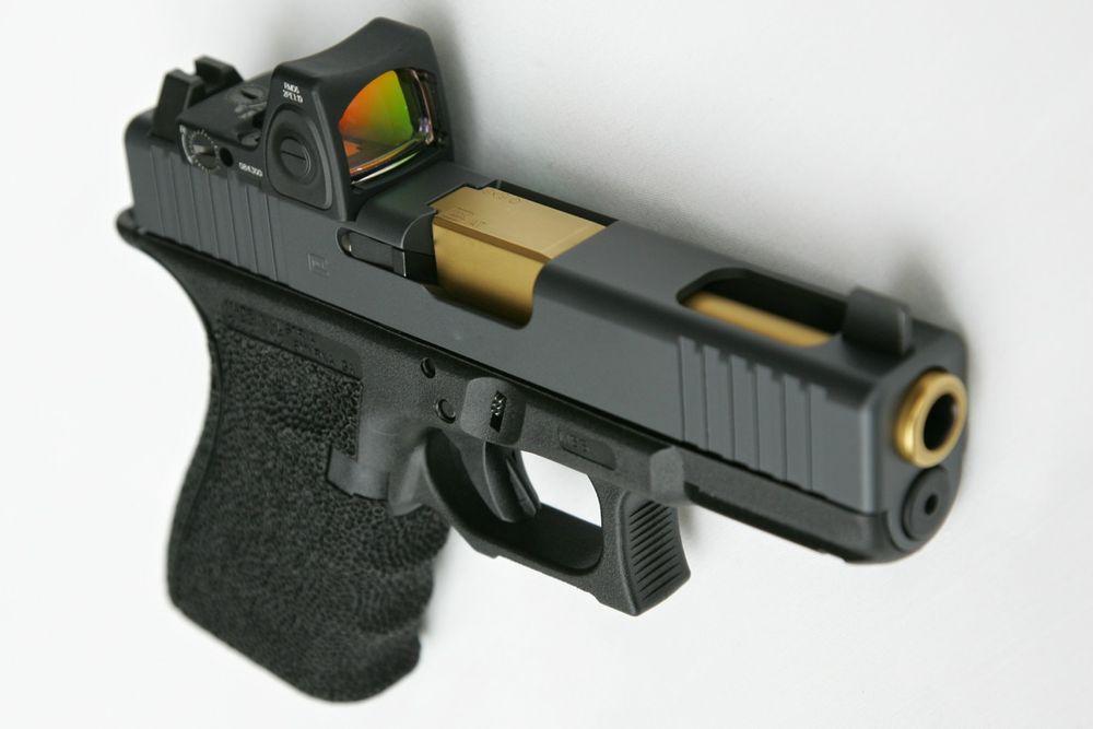 Titanium nitride coated Glock barrel  - Yelp
