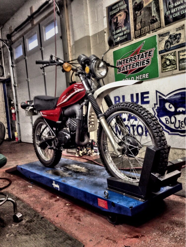 Blue Cat Motorcycle