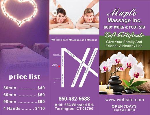 Massage in torrington ct