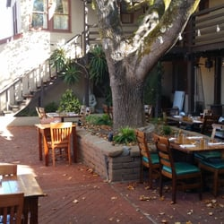 backyard forestville ca united states the outdoor seating there