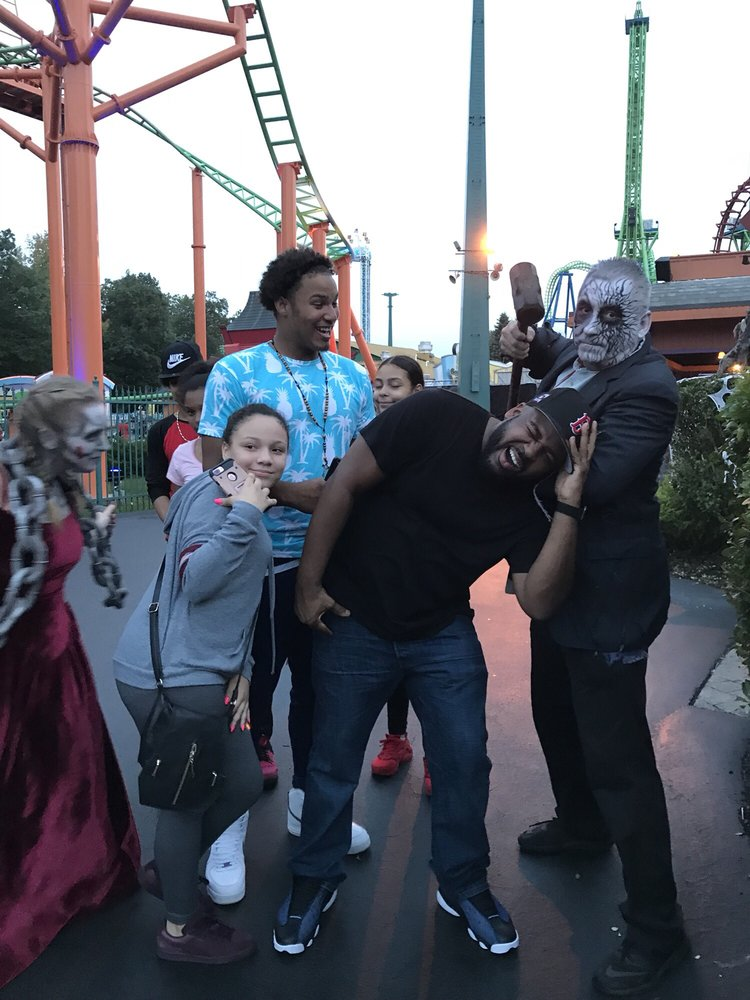 P O Of Six Flags New England Agawam Ma United States Fright Fest