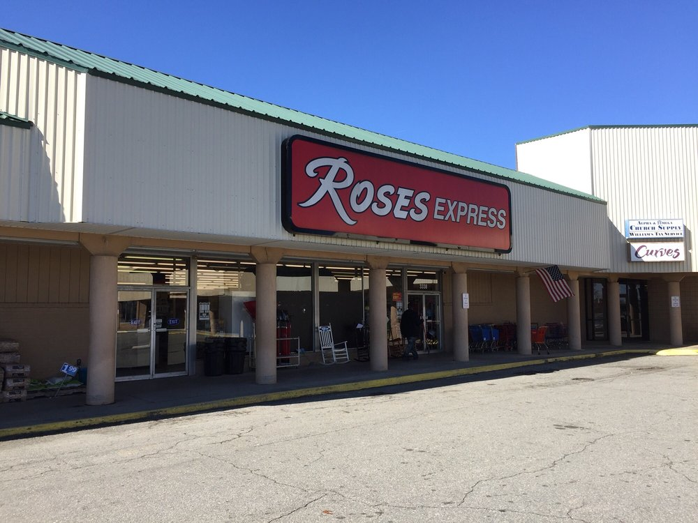 Roses Express: 3338 Halifax Rd, South Boston, VA