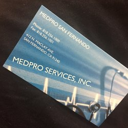Medpro services medical centers 412 n maclay ave san fernando photo of medpro services san fernando ca united states business card reheart Image collections