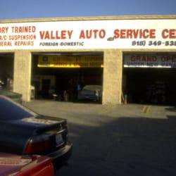 Valley auto service center auto repair 19545 parthenia for Valley motors fort kent