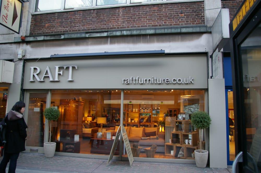 Raft 34 photos furniture shops 184 tottenham court for Furniture tottenham court road
