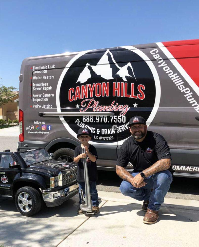 Canyon Hills Plumbing: 29991 Canyon Hills Rd, Lake Elsinore, CA