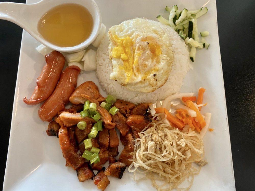 Food from V Kitchen Vietnamese Cuisine
