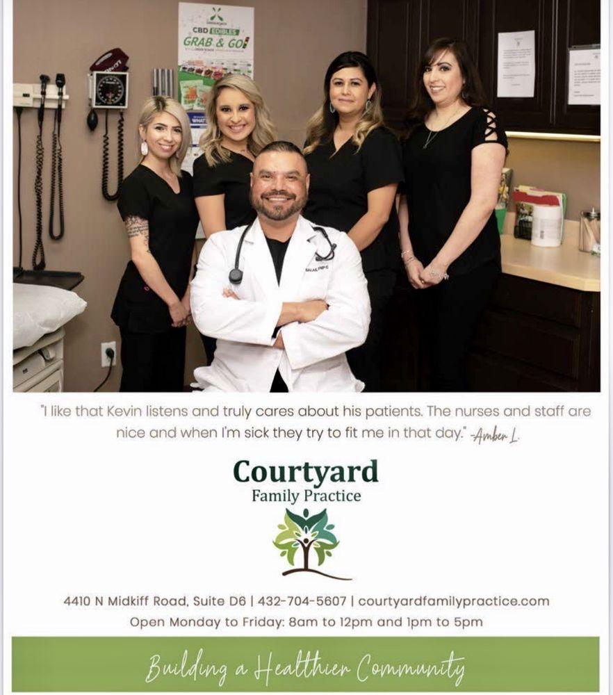 Courtyard Family Practice: 4410 N Midkiff, Midland, TX