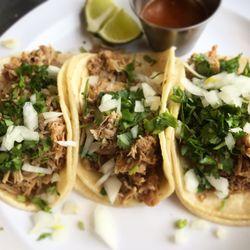 Photo Of La Peña Mexicana Kennett Square Pa United States Carnitas Tacos