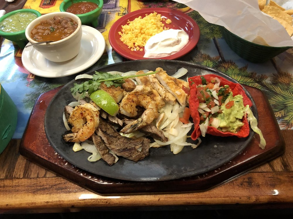 Food from Las Fuentes Mexican Restaurant