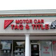 Motor Car Tag Title 31 Reviews Registration Services