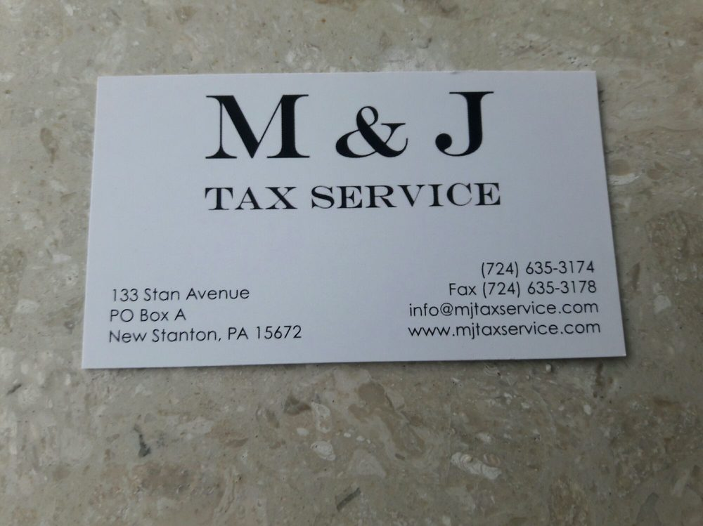 M & J Tax Service: 133 Stan Ave, New Stanton, PA