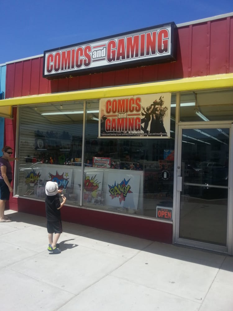 Comics and Gaming