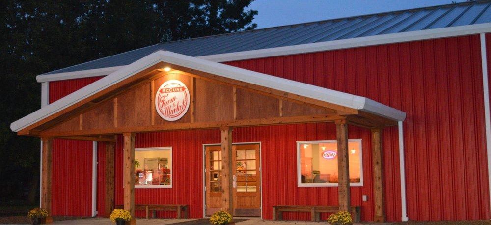McCune Farm to Market: 604 Hickory St/126 Hwy, McCune, KS