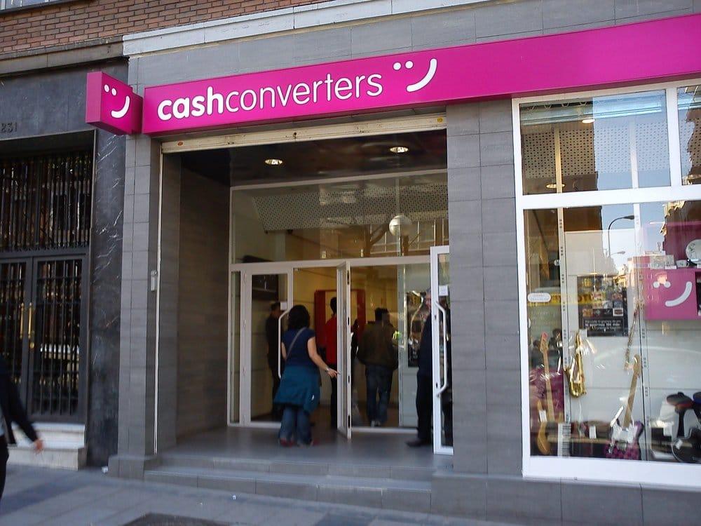 Cash converters pr ts sur gage calle de alcal 231 for Cash piscine espagne