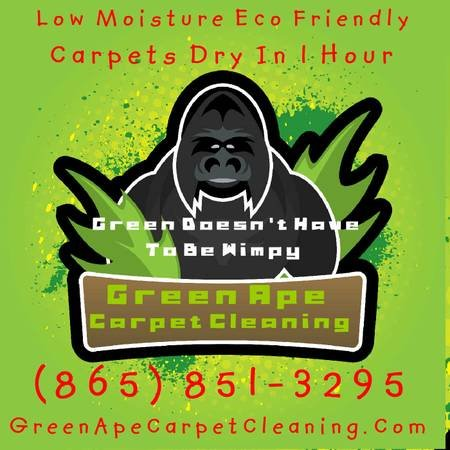 Green Ape Carpet Cleaning: Crossville, TN
