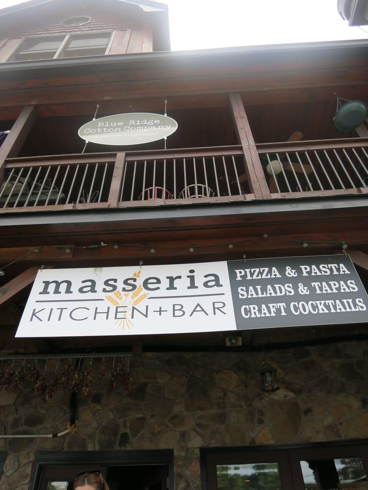 Masseria Kitchen Bar Blue Ridge Ga