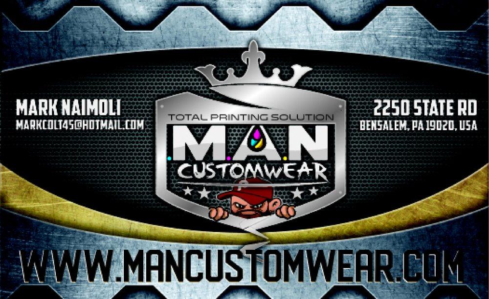 MAN Custom Wear: 2250 State Rd, Bensalem, PA
