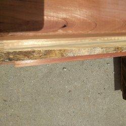 Photo Of Butcher S Block Big Bear Lake Ca United States Damaged Lumber