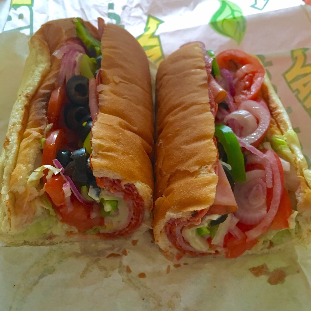 Subway $6 sub of the day