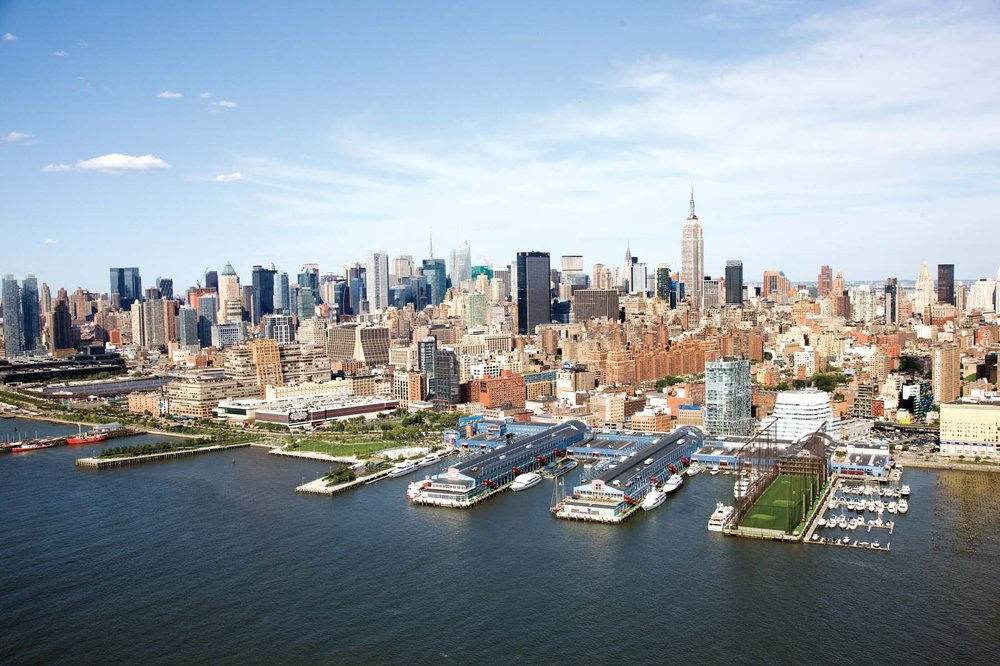 Chelsea Piers Sports and Entertainment Complex: 62 Chelsea Piers, New York, NY