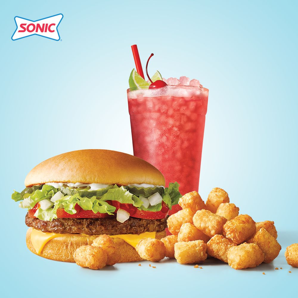 Sonic Drive-In: 1006 E First St, Hughes Springs, TX