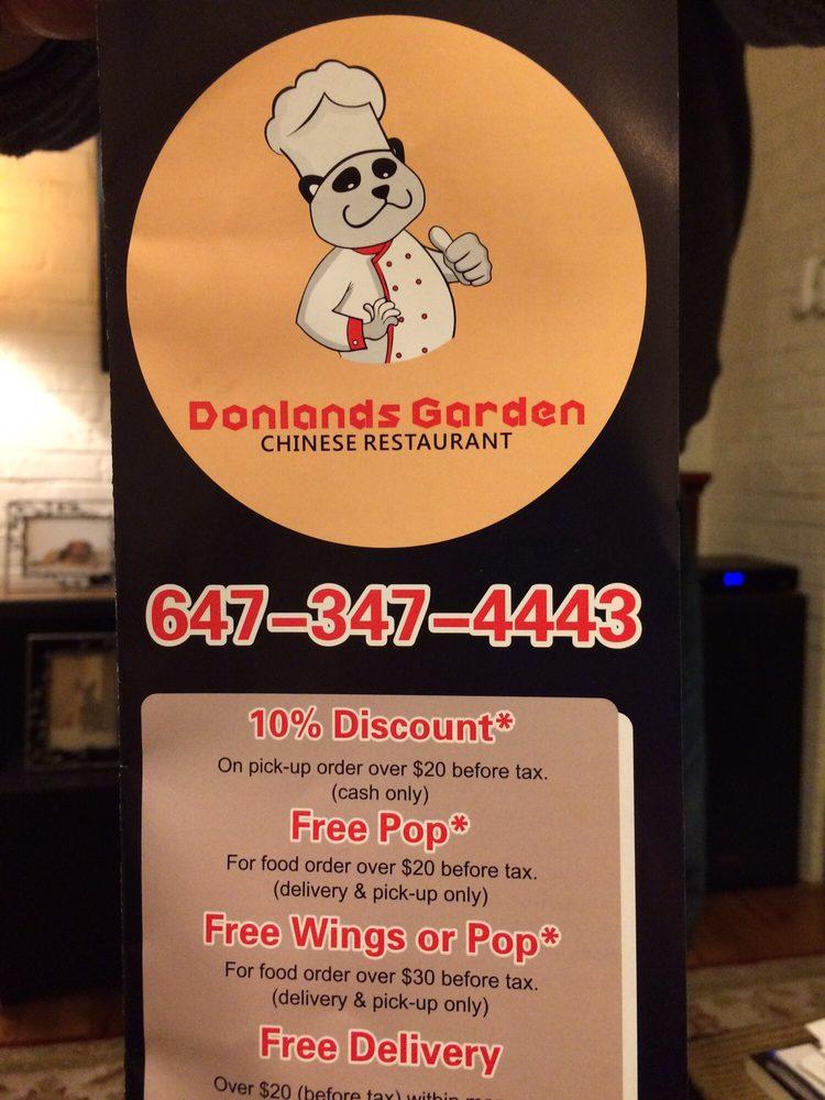Donlands Garden Chinese Restaurant