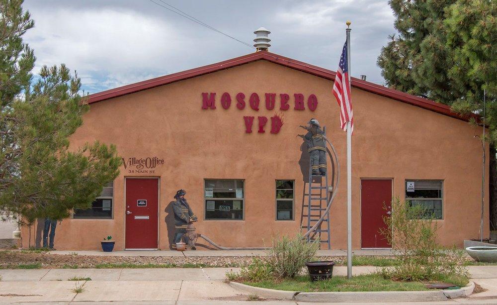Mosquero Village of Fire Dept: 38 Main St, Mosquero, NM