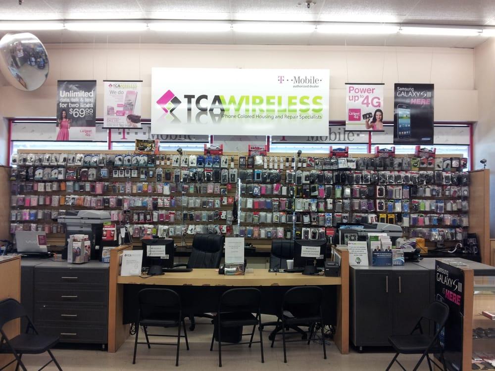 TCA Wireless iPhone iPad Samsung Repair Specialists