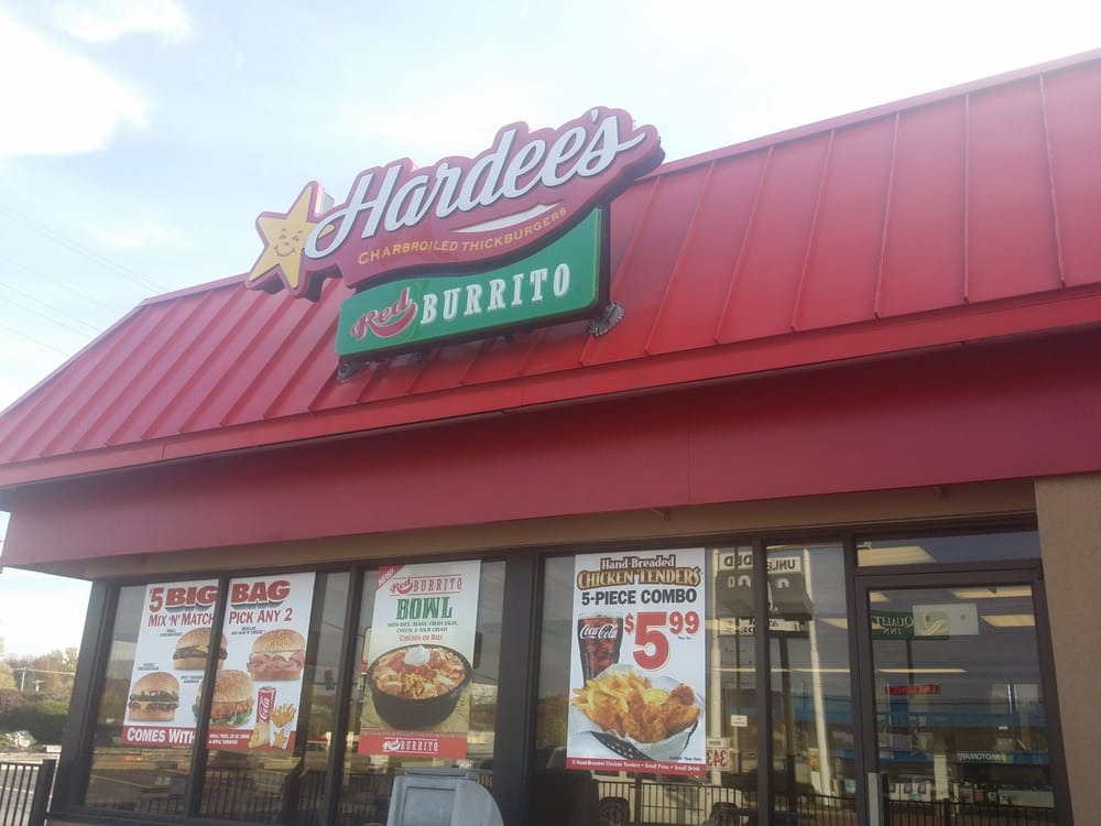 Hardees Fast Food 1212 W Osage St Pacific Mo Restaurant