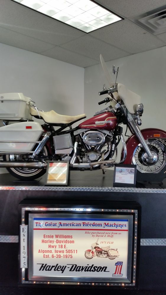 Ernie's Harley - Davidson: 2701 Hwy 18 E, Algona, IA