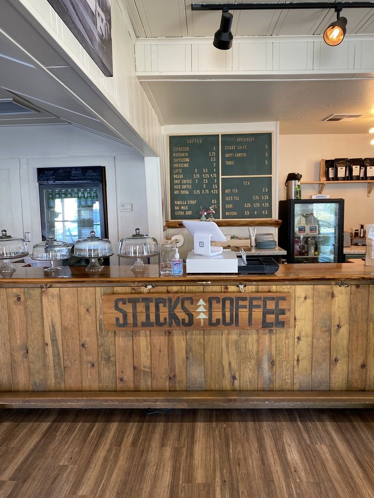Sticks Coffee: 4993 7th St, Mariposa, CA