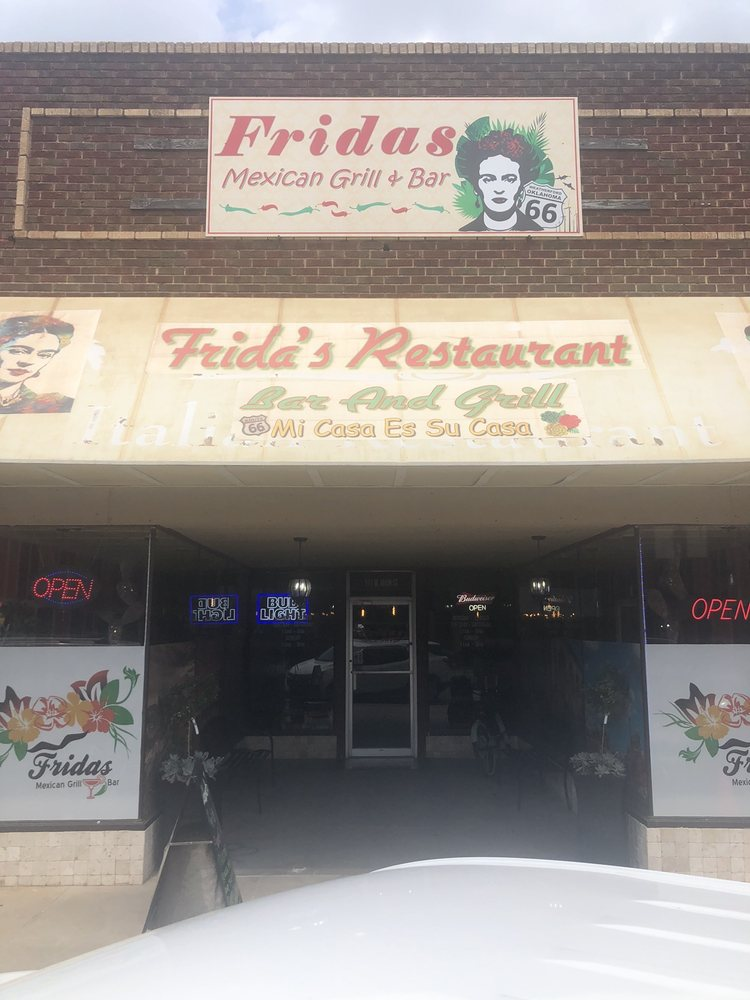 Fridas Mexican Grill: 111 W Main St, Weatherford, OK